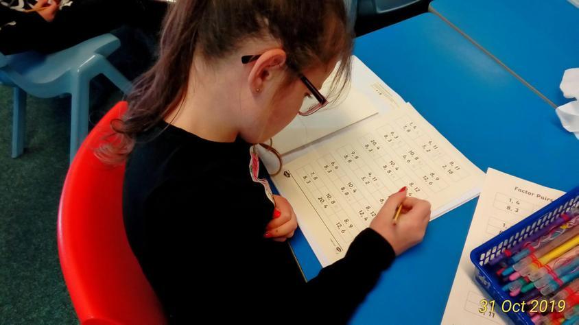 Exploring factor pairs