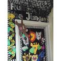 Class 1's door - Rumble in the Jungle