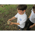 Being archaeologists looking at the stone age