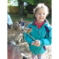 Forest school making stone age tools (24).JPG