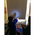 Science - what is a shadow hand puppets (10).JPG