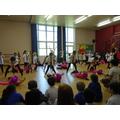 Pink panther dance