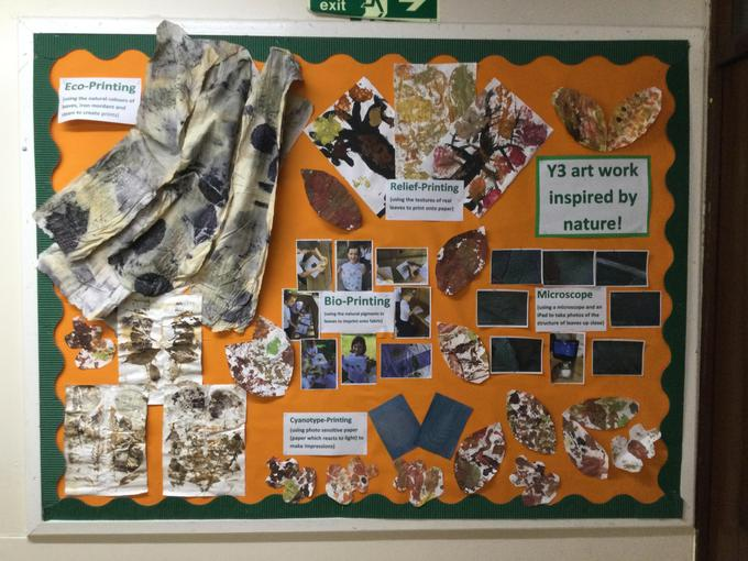Here is our completed work on display