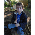 Forest school making stone age tools (10).JPG