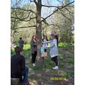 One of the activities Boxmoor staff learnt
