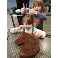 Cake baking!