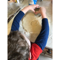 Making cheese scones!