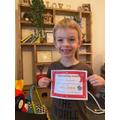 Home learning certificate!