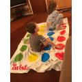 Twister fun!