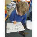 Set 3 sound words writing.