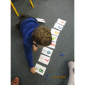 Ordering numbers 1 to 10.