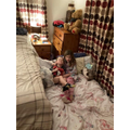 Sleepover in Mum and Dad's room!