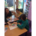 Making shapes with Numicon
