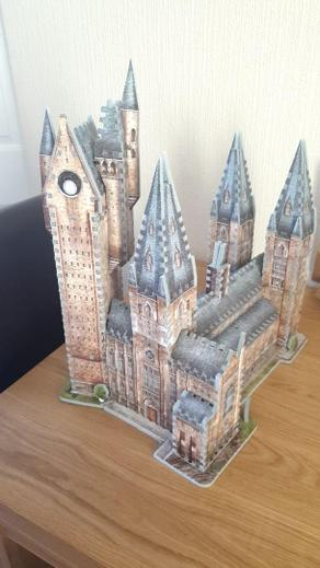 Beau's amazing 3D jigsaw puzzle