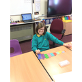 We used Numicon to make Number bonds to ten