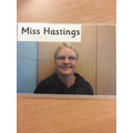 MIss Hastings - Teaching Assistant