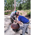 Learning how to use a flint and steel