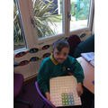 Making a square with Numicon