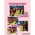 Sea creature yoga