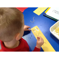 Spaghetti writing!
