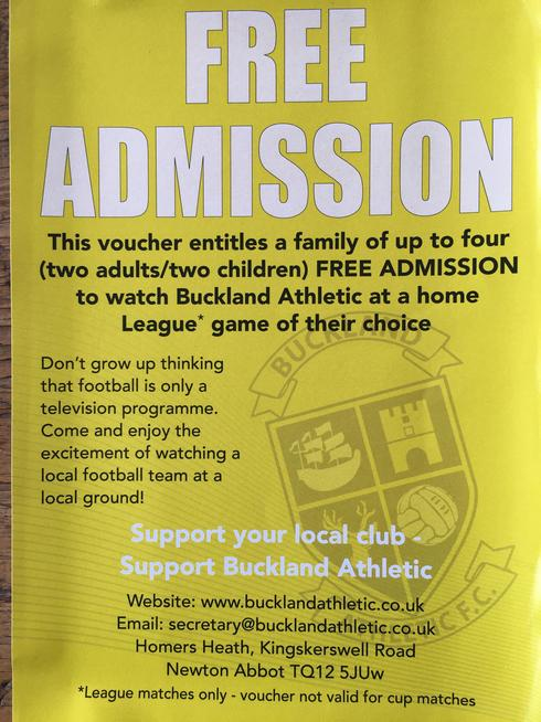 Buckland Athletic is a football club right in the heart of the Newton Abbot community.
