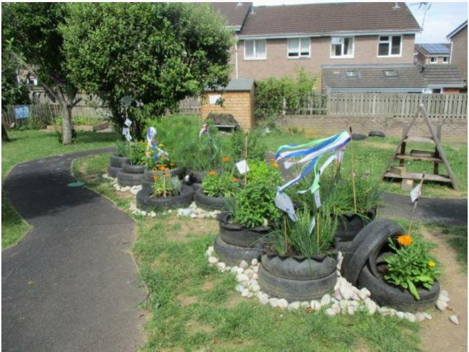 The Y1 garden