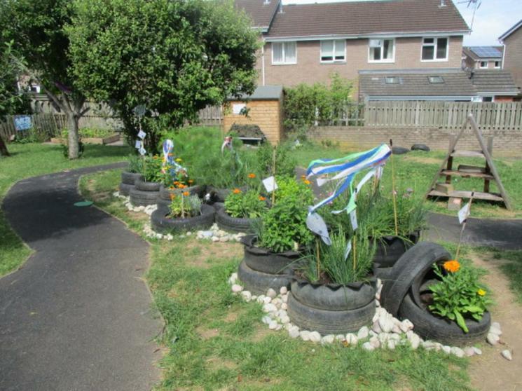 Year 1 garden