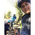 Jake went out for a bike ride with his family!