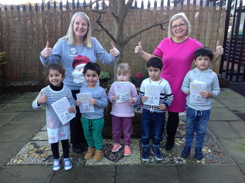 Our first reading stars  - Green Nursery