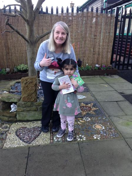 Another reading star for Green Nursery