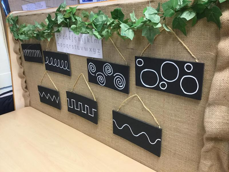Fine motor changes weekly allowing for exciting ways to develop our fine motor skills