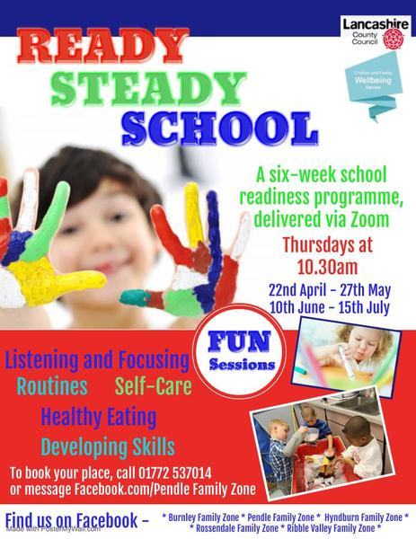 Readiness sessions for parents with children starting school this September