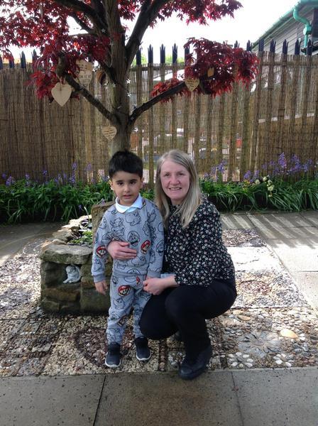 Another 'star reader' award in Green Nursery