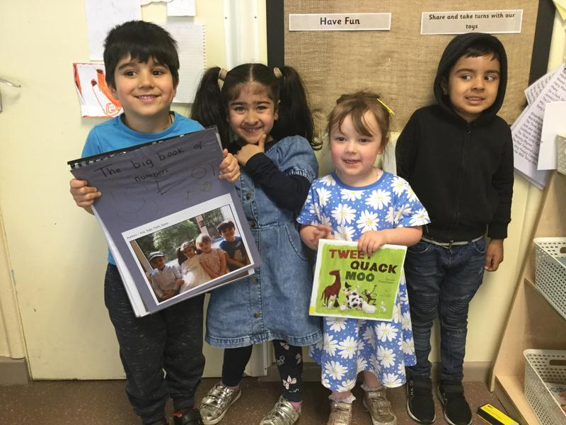 Our authors of their own number book