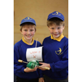 Our winners were Isaac and Niall!