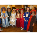 After lunch we dressed as Rich Tudors,