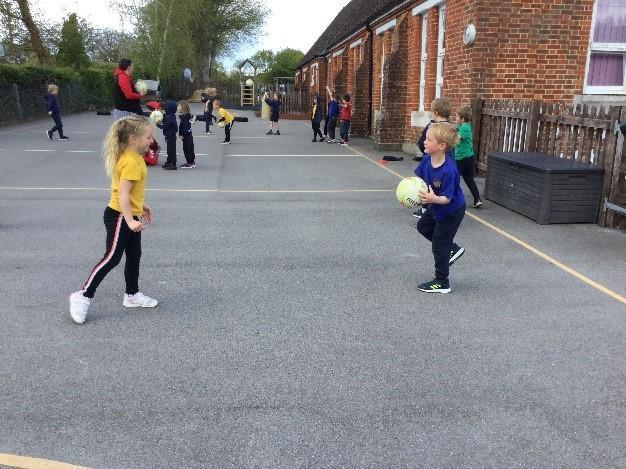As a part of our P.E lessons, the children have begun the Hampshire School Games gymnastic
