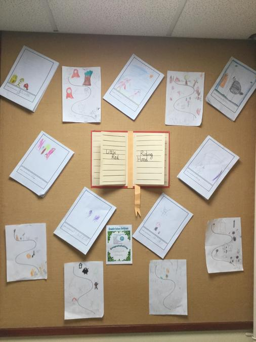 Our story book display - amazing!