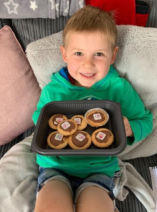 Great baking Logan!