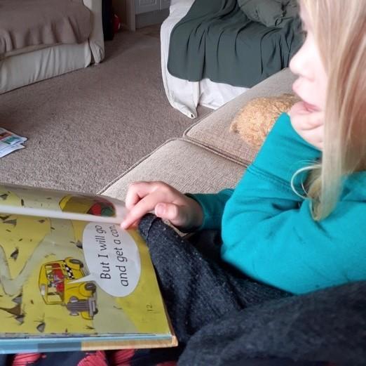 Wonderful to see you reading lots Ellie!