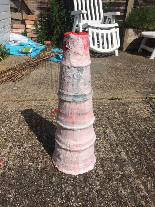 Your lighthouse is looking super, George!