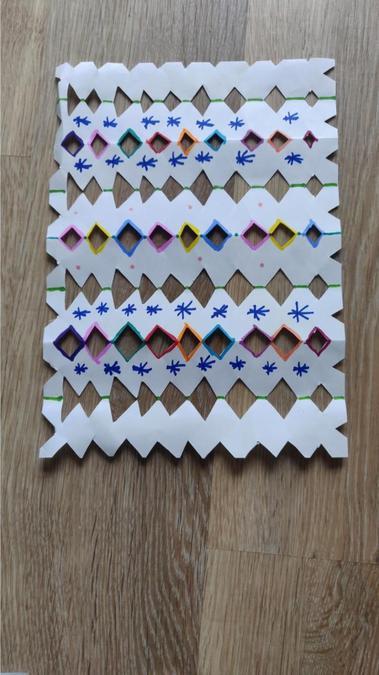 Neat and tidy pattern creation Martha