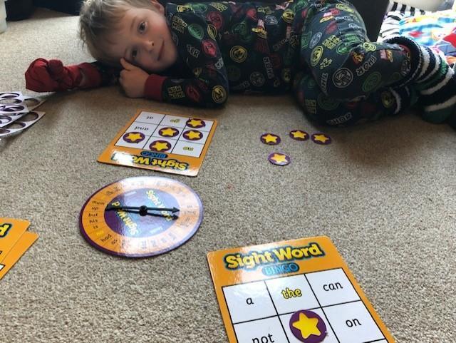 I love the look of your word bingo game Benji!