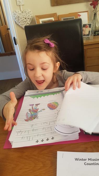 A folder full of wonderful learning.