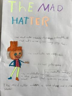 I love your choice of colours for this Mad Hatter.