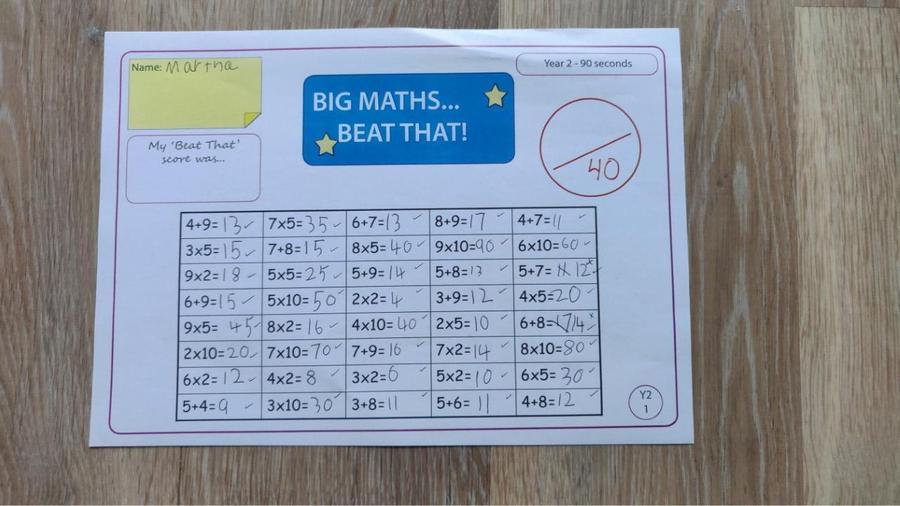 Fantastic maths Martha