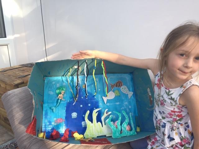 Such a creative underwater habitat Isla. Top work.