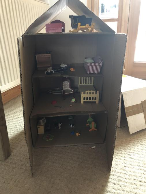I would love to play with this awesome dolls house
