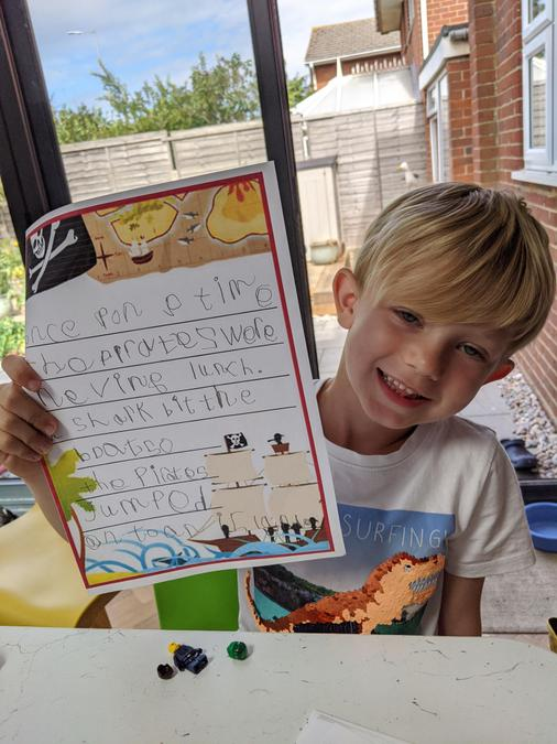 Such a great start to your story Ezra, well done!