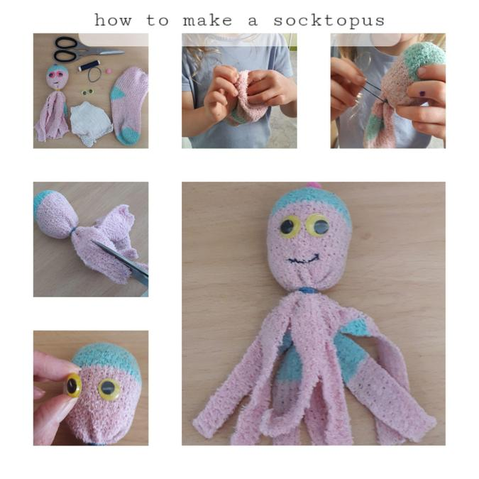 How cute! I will have to try & make a socktopus :)